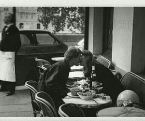 black, cafe, and car image