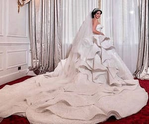 ball gowns, haute couture, and bridal gown image