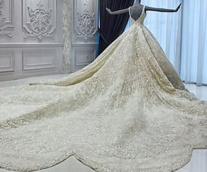 ball gowns, fashion, and bridal gown image