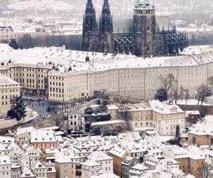 prague, city, and czech republic image