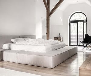 architecture, bedroom, and decoration image