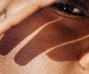eyes, skin, and sun image