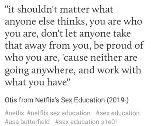 sex education, tv show, and netflix image
