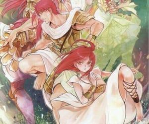 magi, masrur, and morgiana image