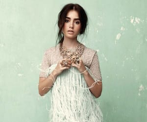 photoshoot and lily collins image