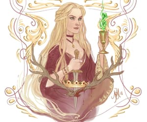 game of thrones, cersei lannister, and house lannister image