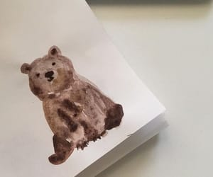 aesthetic, bear, and art image