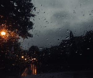 rain, cold, and rainy image