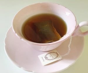 pink, soft, and tea image