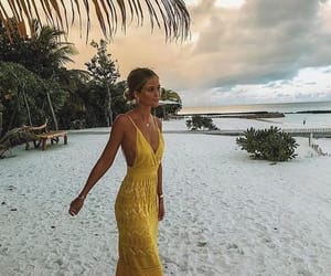 acessories, beach, and dresses image