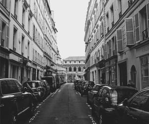 aesthetic, black and white, and cities image