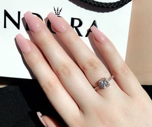 christmas, long nails, and we heart it image
