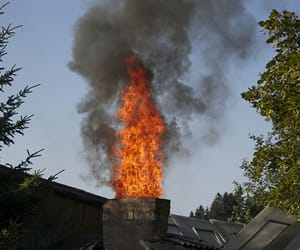 panama city chimney sweep and chimney fires image