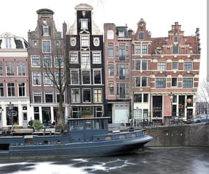 amsterdam, netherlands, and winter image