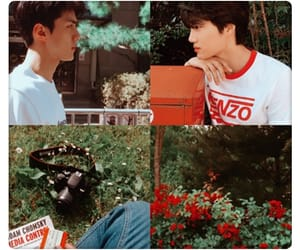 aesthetic, oh sehun, and hunkai image
