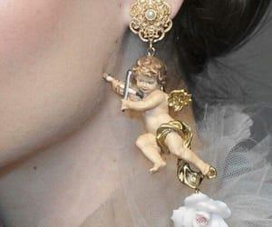 earrings, angel, and aesthetic image