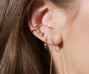aesthetic, earrings, and cute image