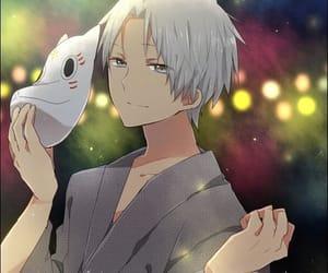 gin, hotarubi no mori e, and anime image