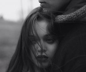 black and white, couple, and couples image