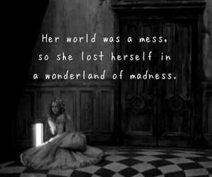 quotes, wonderland, and alice in wonderland image