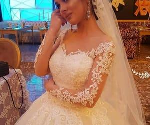 wedding dresses and beautiful bridge image