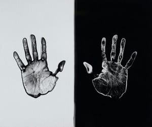 hands, theme, and art image