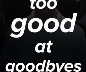 adios, good, and sad image