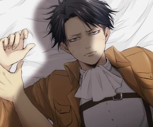 anime, levi ackerman, and levi image