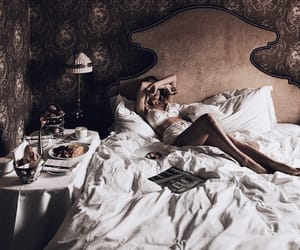 bedding, chill, and decor image