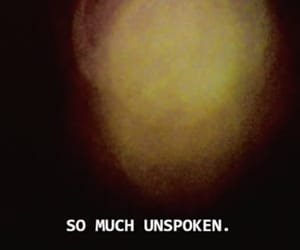 quotes, unspoken, and words image