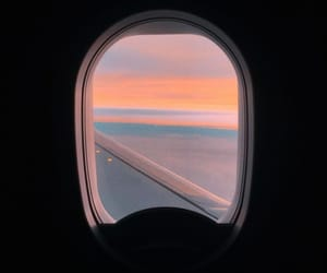 airplane, wallpaper, and window image