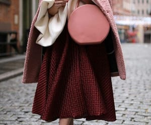 fashion, pink, and red image