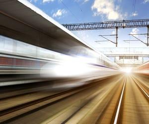trainstation, highspeed, and hongkong image