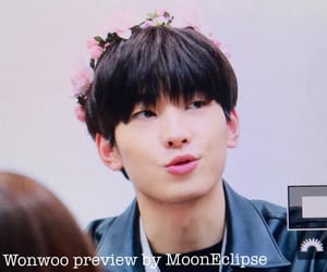 flower crown, kawaii, and kpop image