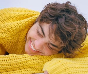 noah centineo, boy, and yellow image