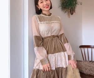 dress, fashion, and korean fashion image