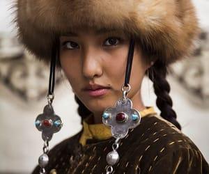 beauty, girl, and kyrgyzstan image