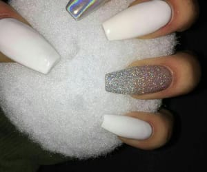 nails, white, and claws image