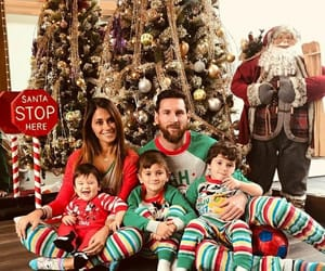 family, leo messi, and new year image