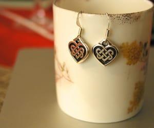 hearts, irish, and silver image