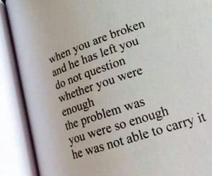 quotes, broken, and left image
