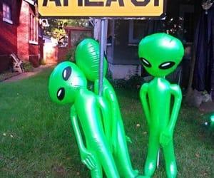 alien, alternative, and grunge image