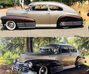chevrolet, white walls, and classic cars image