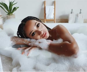 bath, chill, and relaxing image