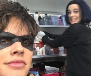 DC, raven, and titans image