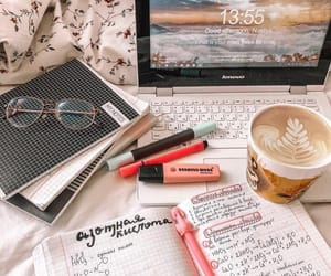 coffee, college, and inspiration image