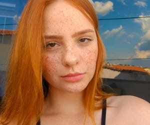 freckle, freckles, and girls image