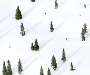 mountain, Skiing, and winter image
