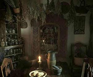 magic, witchcraft, and dry herbs image