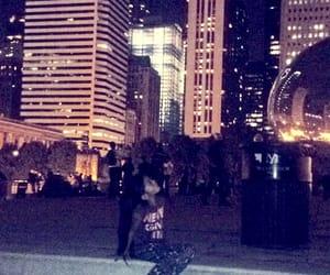 chicago, nightlife, and millenium park image